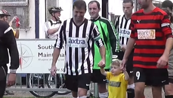 charity football match video