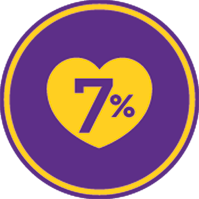 7% icon png