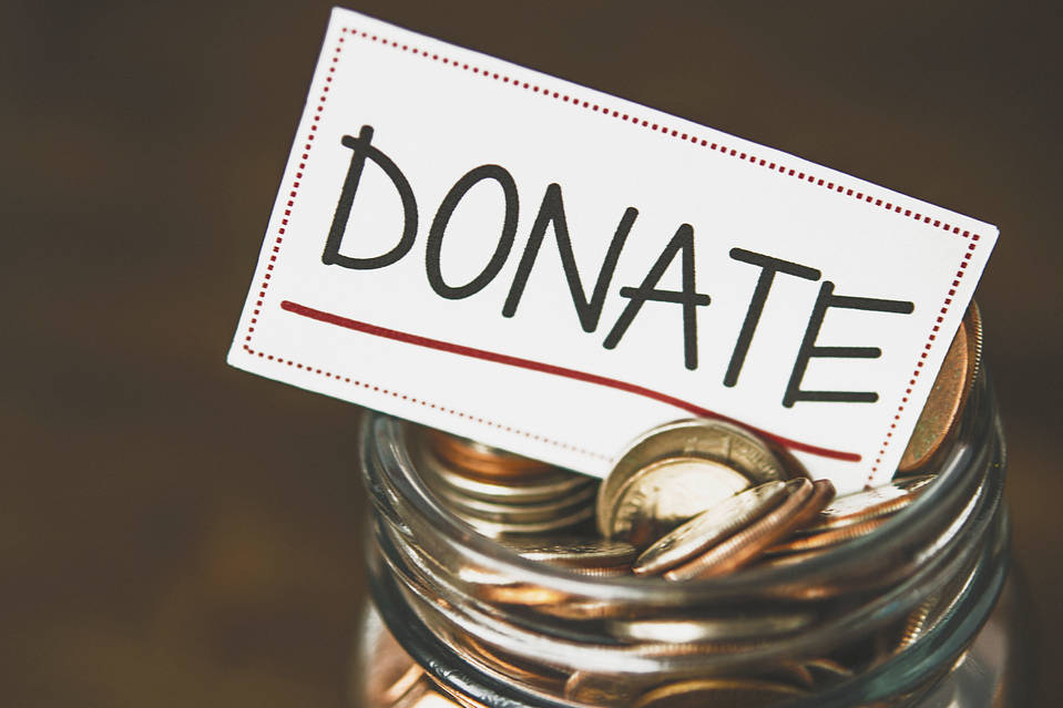donate - jar - coins
