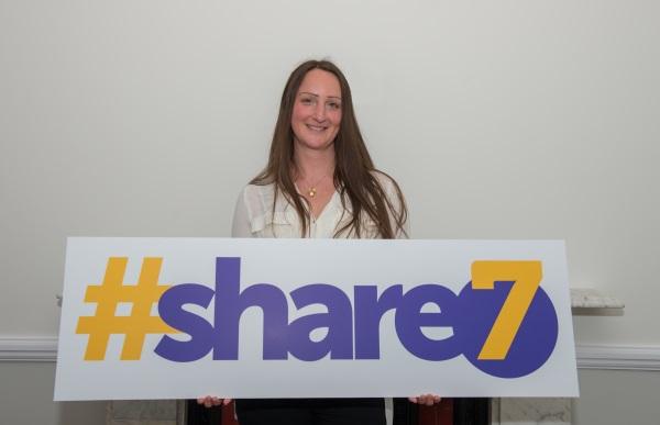 Becky Henderson - #share7 charirty initiative