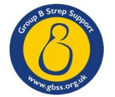 Grpup B Strep Support Logo