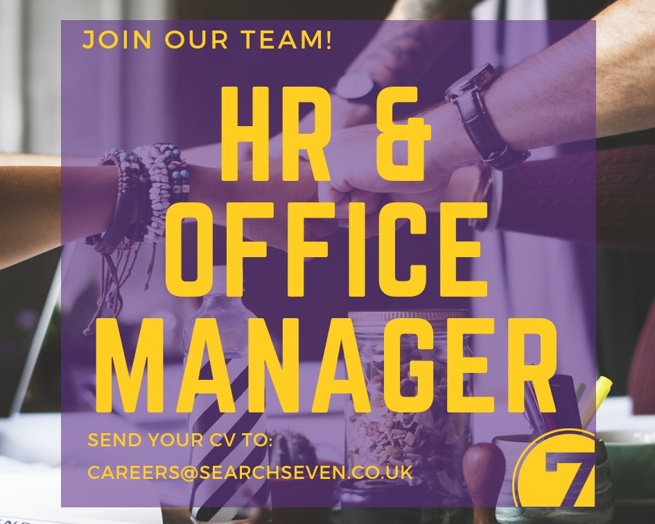 HR & Office Manager Job in Brighton - Search Seven