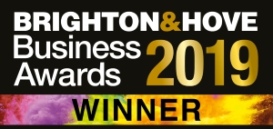 brighton & hove business awards winners logo